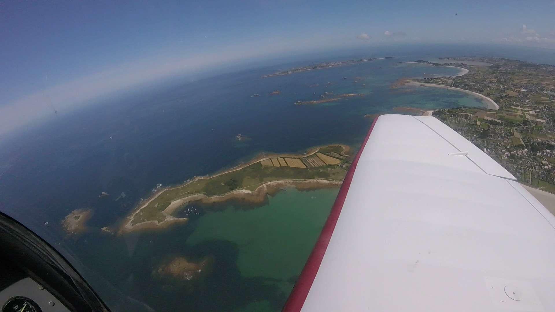Santec et l'île de Sieck