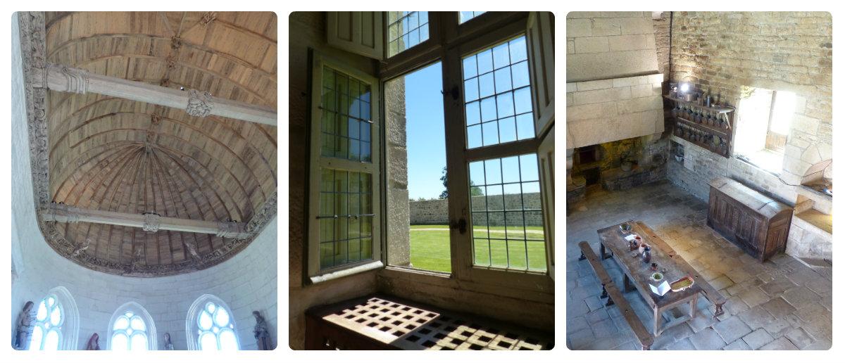 intérieur chateau kerjean