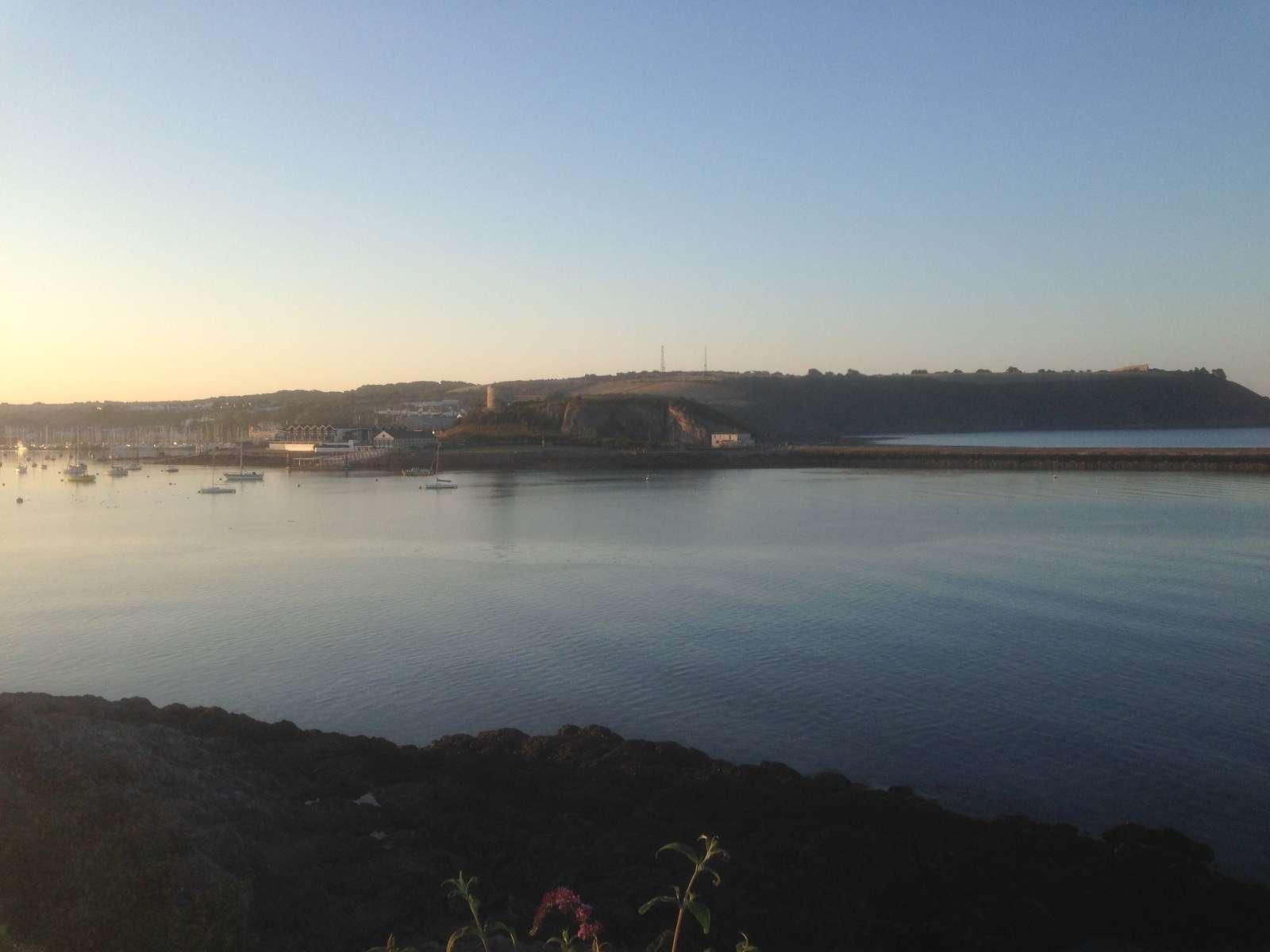 La baie au petit matin
