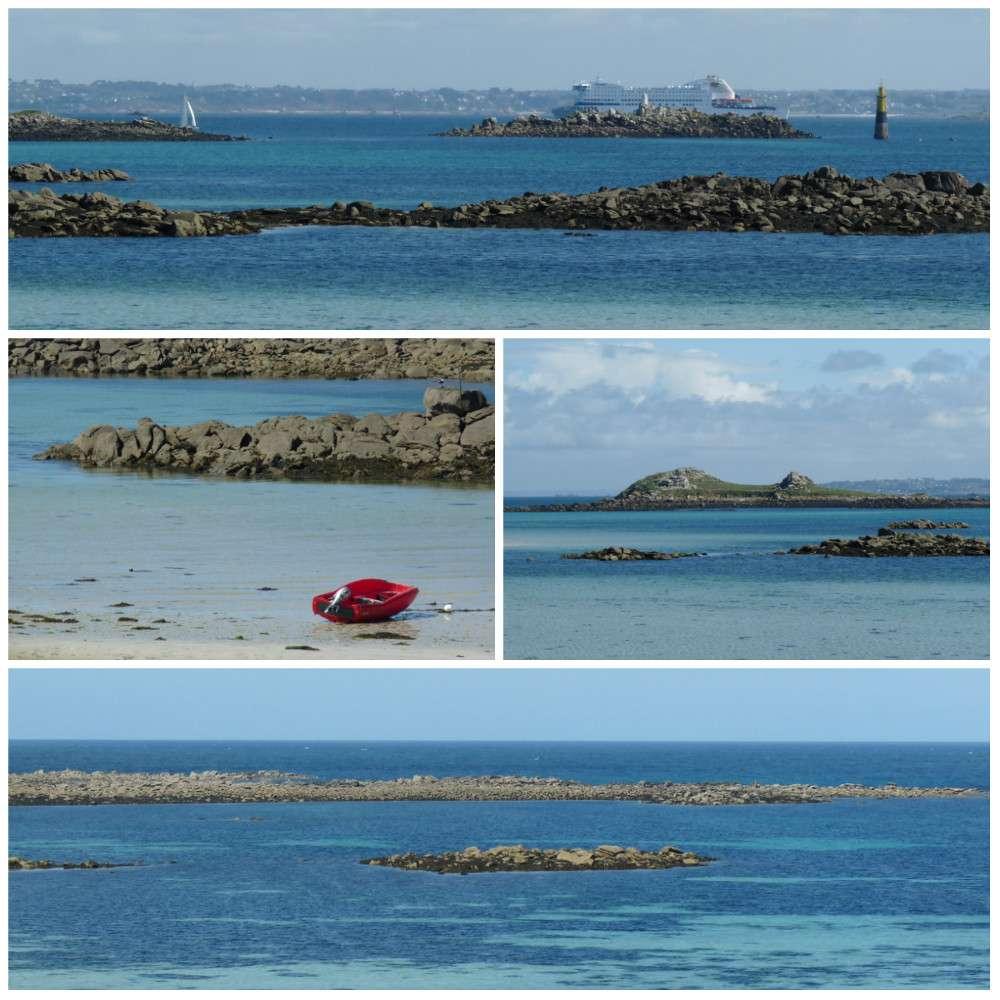 Ile de Batz vue mer