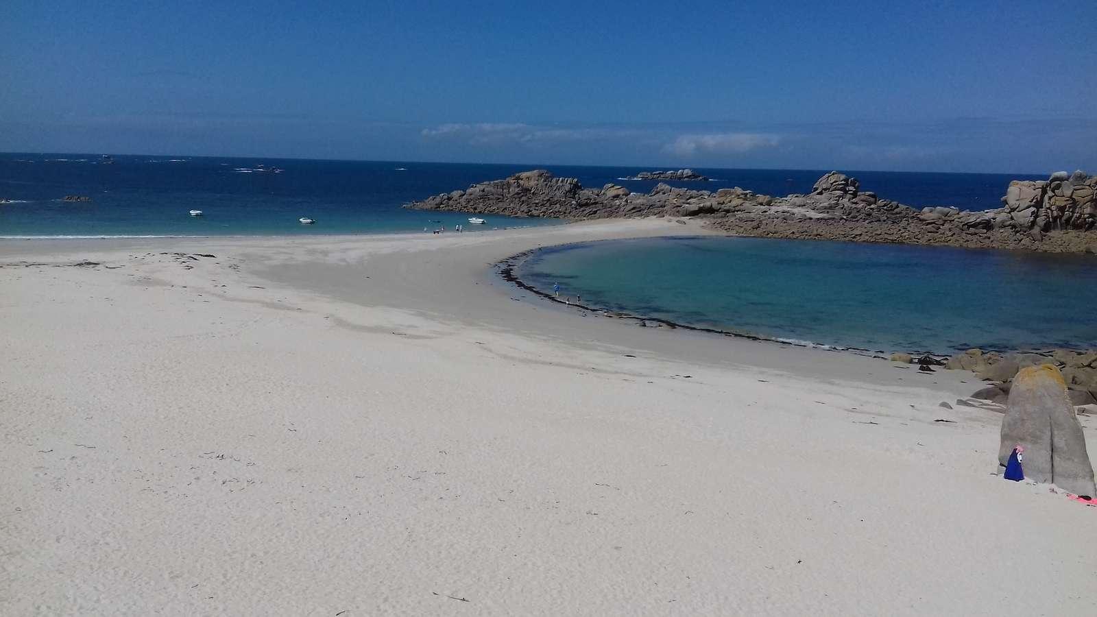 La plage des Amiets