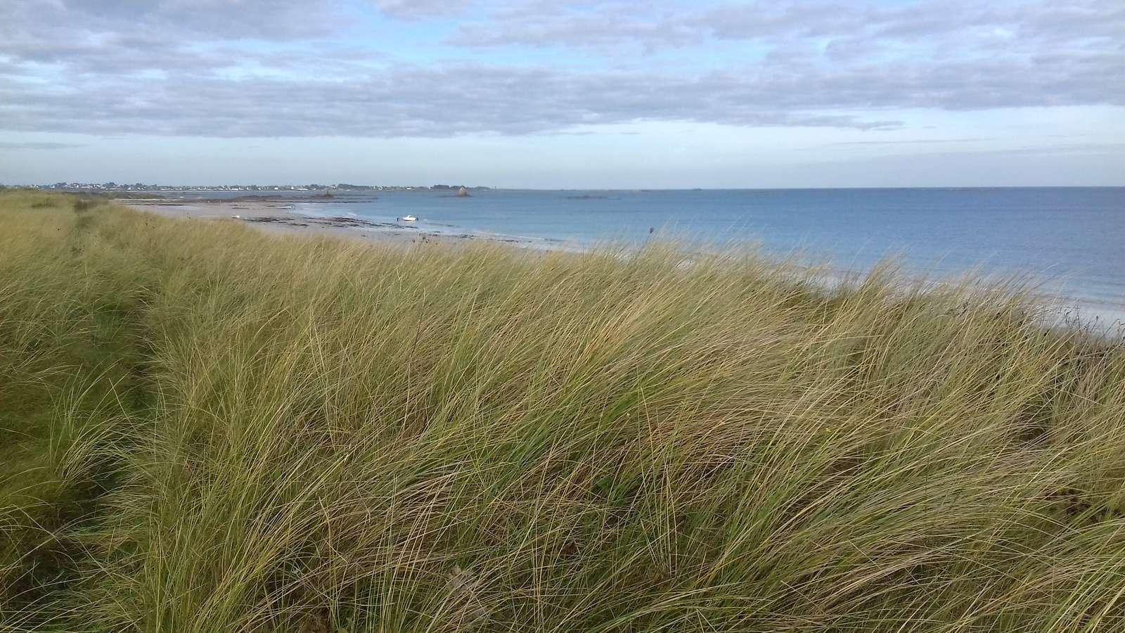 Keremma vue dunes et mer