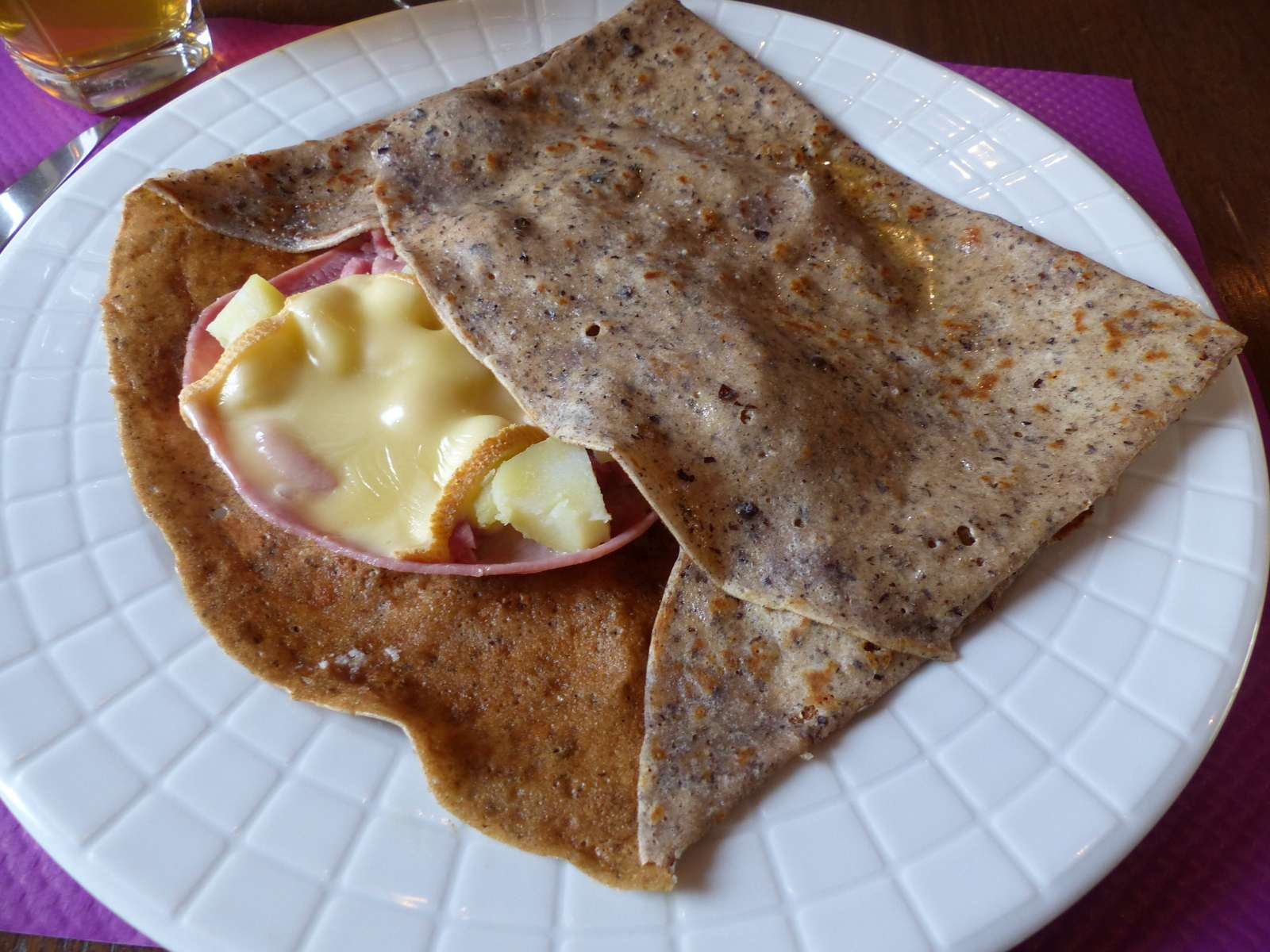 illustration crêpe