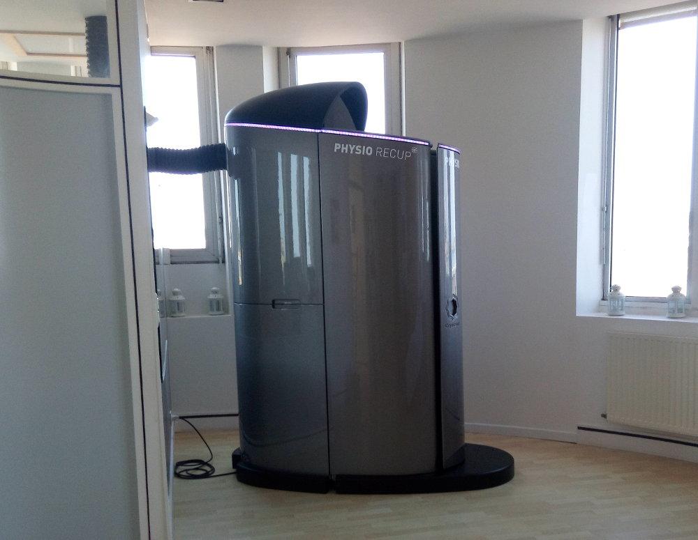 Cabine cryothérapie